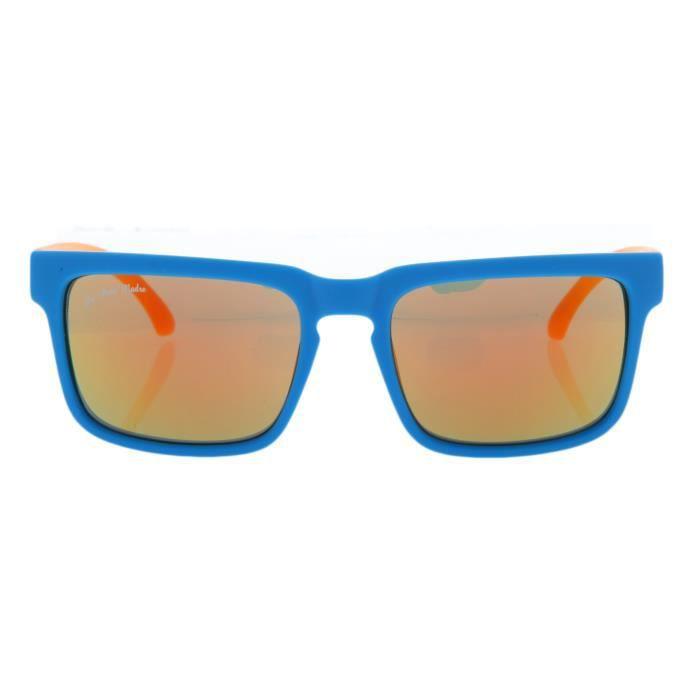 De Puta Madre 69 Adultes Unisexe Lunettes de soleil bleu clair/orange DZ2039S-1043-BL-OR