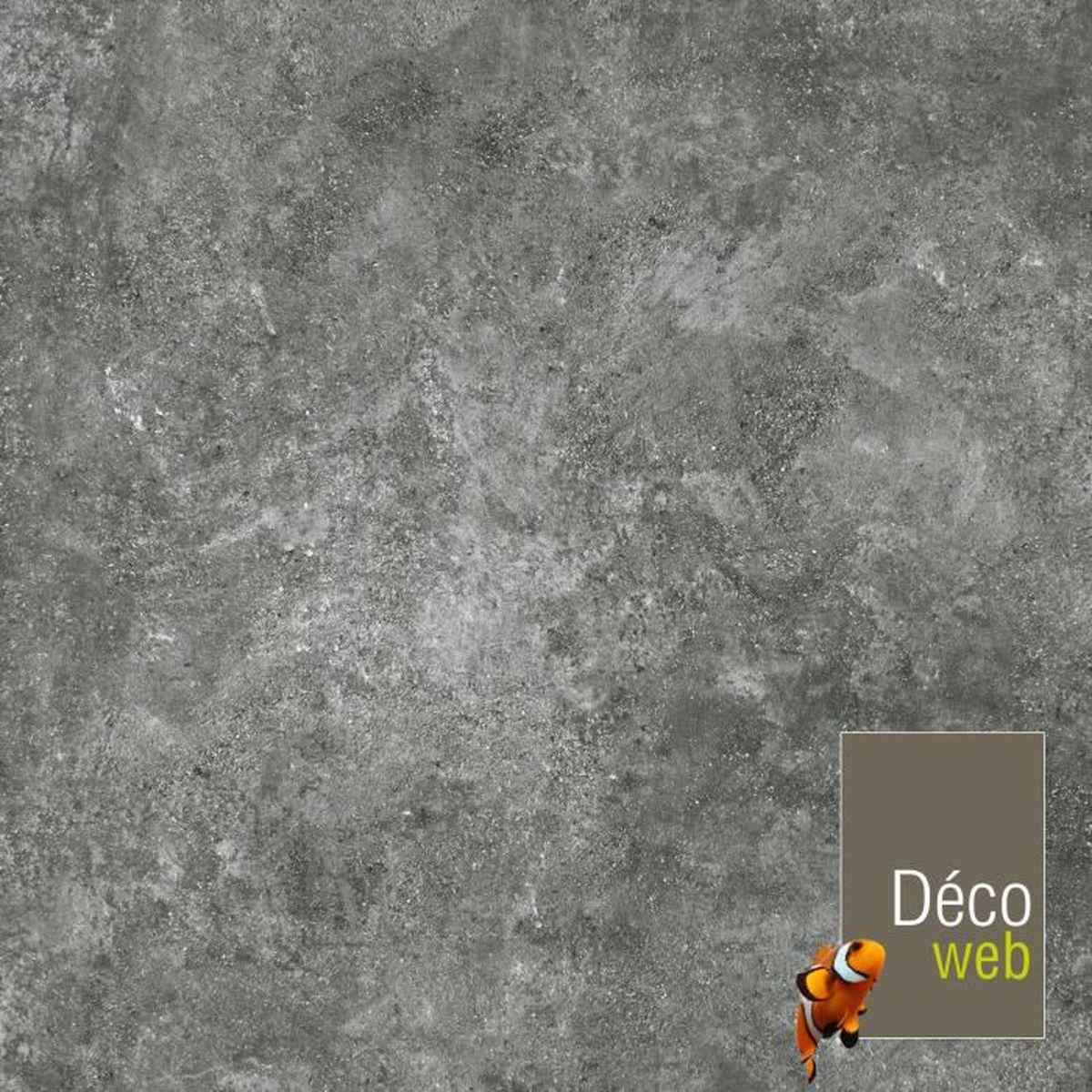 4 X 4m Sol Pvc Best Motif Granit Noir Argente Achat Vente