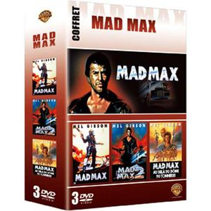 DVD FILM DVD Coffret integrale mad Max : mad Max 1 - 3