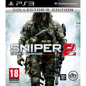 JEU PS3 SNIPER GHOST WARRIOR 2 EDITION COLLECTOR / PS3