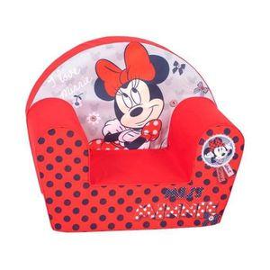 FAUTEUIL - CANAPÉ BÉBÉ MINNIE Fauteuil Club Disney Baby Rouge
