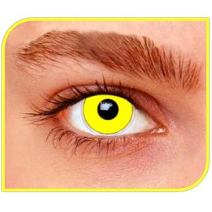 MAQUILLAGE Lentilles fantaisie yellow out