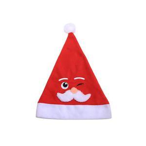 KIT VÊTEMENT Chapeau de Noël pour enfants brodé à la machine à