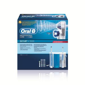 Jet dentaire et Hydropulseur ORAL B OXYJETPLUS 1000 OC20525 BLEU