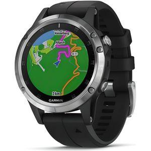 Montre connectée sport Garmin - Montre GPS de randonnée fēnix® 5 Plus, Si