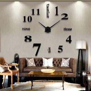 Horloge murale g ante achat vente horloge murale g ante pas cher cdiscount for Horloge murale moderne salon