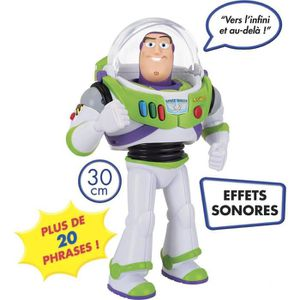 FIGURINE - PERSONNAGE TOYS STORY - Buzz L'eclair Parlant 30 Cm