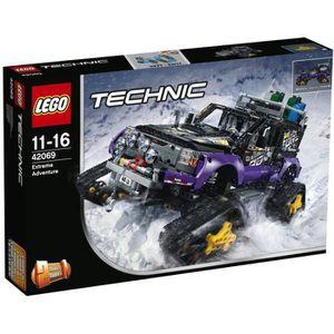ASSEMBLAGE CONSTRUCTION LEGO® Technic 42069 Le Véhicule d'Aventure Extrême