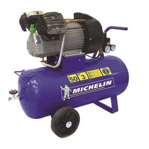 COMPRESSEUR MICHELIN Compresseur 50 L - Gros debit d'air