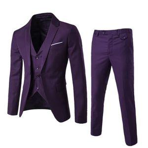 5a89f634244a COSTUME - TAILLEUR (Veste+Pantalon+Gilet)Costume Homme Marque Luxe 3 ...