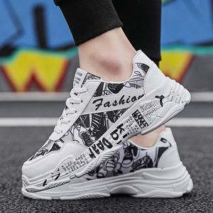 090ac65601d67 BASKET Mode homme sauvage Graffiti Chaussures Casual conf