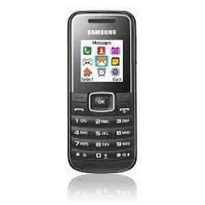 SMARTPHONE SAMSUNG E1050 NOIR