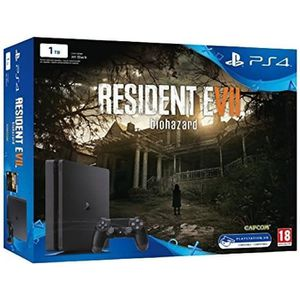CONSOLE PS4 Console PlayStation 4 Sony Ps4 Slim 1TB + Resident