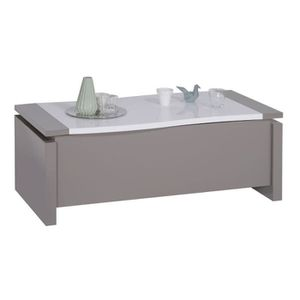Table Basse Taupe Achat Vente Pas Cher