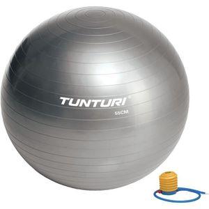 BALLON SUISSE-GYM BALL TUNTURI Ballon de gym - 55cm - Gris