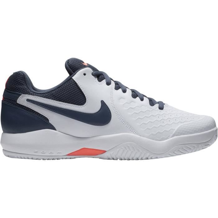 new arrivals a3c27 6074e NIKE Chaussures Multisport Air Zoom Resistance - Homme - Blanc