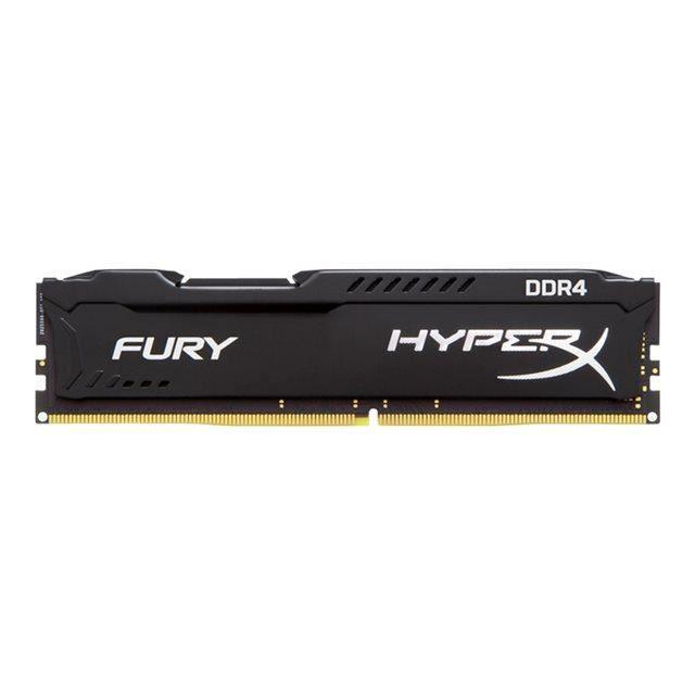 HYPERX Mémoire PC FURY Black- 32Go(2x16Go) - DDR4 - 2666MHz - CL16 - DIMM