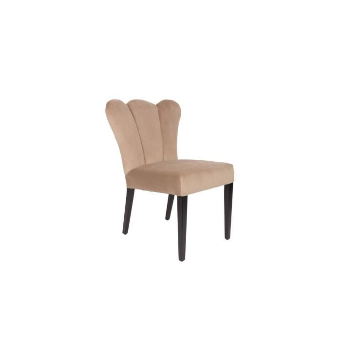Chaise Velours Faye Baroque