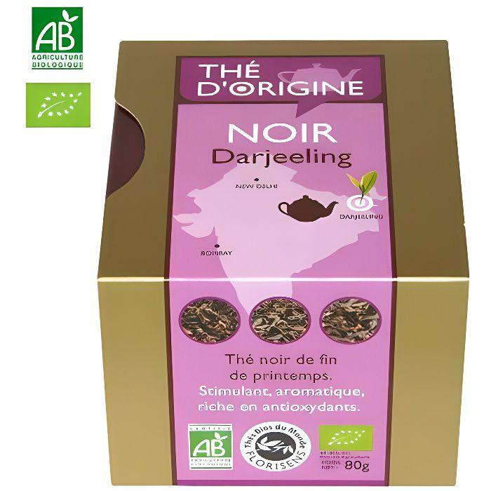 THÉ Thé noir Darjeeling bio - Coffret Thé d Origine…