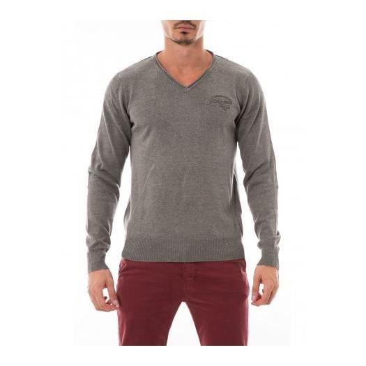 Vente Cdiscount V LAMBERTO HOMME Achat RITCHIE PULL Gris pull YUqwaW8