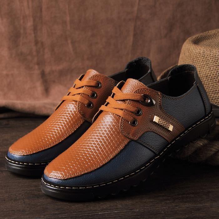 Kouan haute qualité chaussure de ville homme ch...