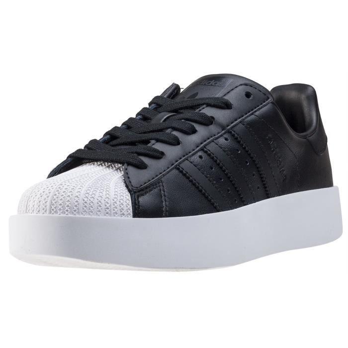 adidas Superstar Bold W Femmes Baskets Black White - 8 UK