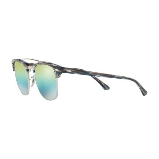 Lunettes de soleil Ray Ban RB-3816 -129l2 - Achat   Vente lunettes de  soleil Homme Adulte Gris - Soldes  dès le 9 janvier ! Cdiscount 5721b35ee518