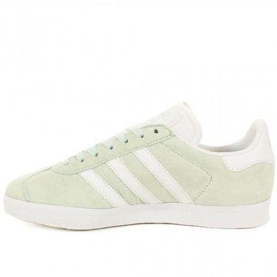 Et Lacets Chaussures Basse À Blanc Vert Gazelle Basket Adidas fw00qWng6B