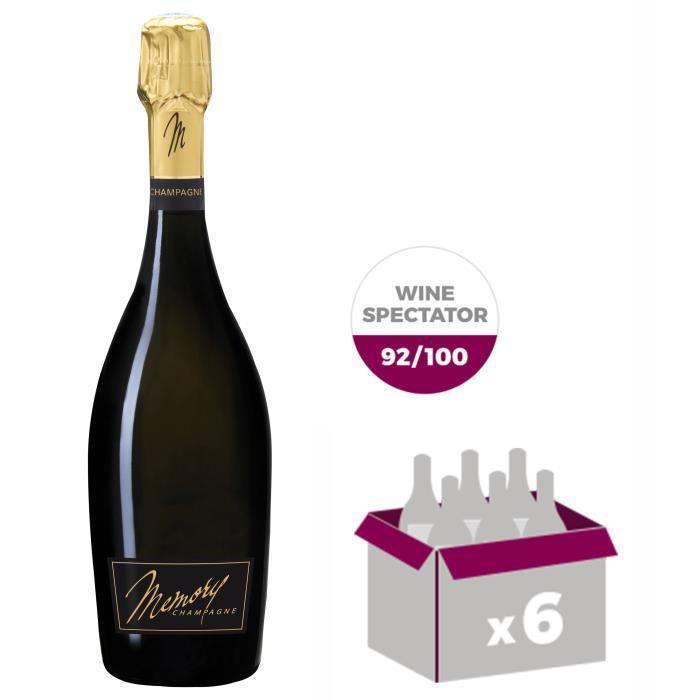 CHAMPAGNE Champagne Mémory 2006 x6