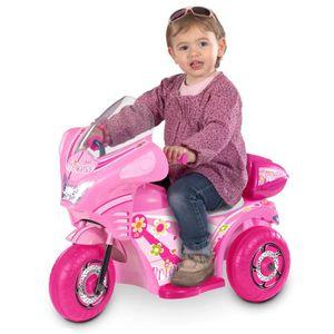 QUAD - KART - BUGGY Quad électrique princesse rose 3 roues