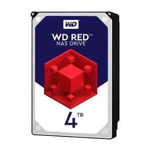 DISQUE DUR INTERNE WD Red 4To 64Mo 3.5    WD40EFRX