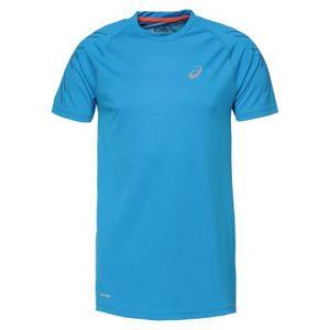 MAILLOT DE RUNNING ASICS Speed Tee shirt manches courtes Homme - Bleu