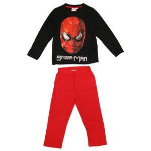 PYJAMA SPIDERMAN Pyjama 162070 - Enfant Garçon - Noir