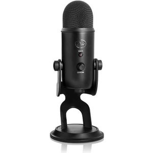 BLUE MICROPHONES Microphone USB YETI -  16BIT/48KHZ - Noir - PC / MAC