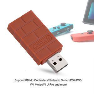 ADAPTATEUR MANETTE Adaptateur USB Sans Fil Bluetooth Pour Nintendo Sw