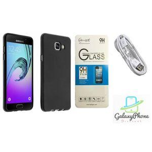 Coque Silicone Samsung Galaxy On5 2016 Noir