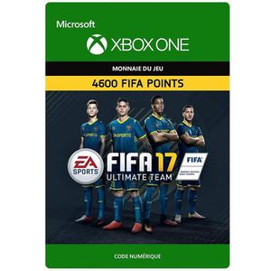 EXTENSION - CODE FIFA 17 Ultimate Team: 4600 Points pour Xbox One
