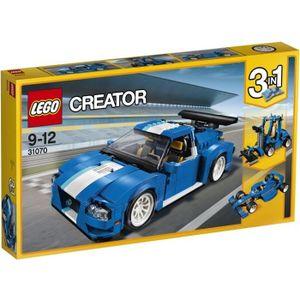ASSEMBLAGE CONSTRUCTION LEGO® Creator 31070 Le Bolide bleu