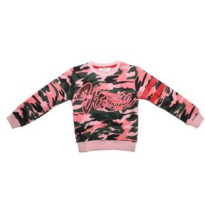 PULL pull sweat militaire rose