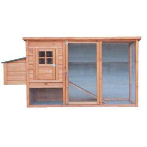 POULAILLER Poulailler standard toit bitumé 1 pente 1,50m²