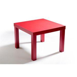 table basse mini table basse carre rouge - Table Basse Rouge Et Noir