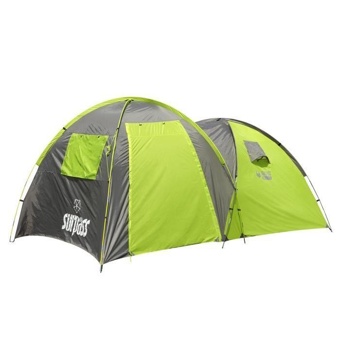 SURPASS Tente de C&ing Confort 4 Places  sc 1 st  Cdiscount.com & SURPASS Tente de Camping Confort 4 Places - Prix pas cher - Cdiscount