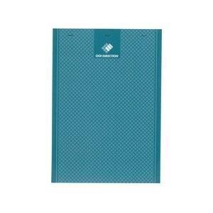 Bloc-Notes agrafé - 29,7 cm x 21 cm x 0,9 cm - 200 pages - 56g - Petits carreaux