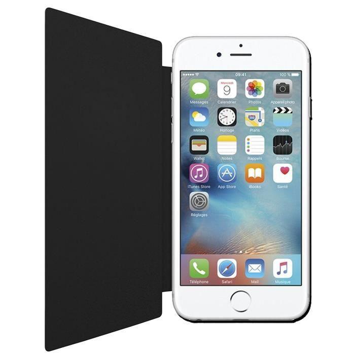 Émitel Étui extra Slim pour iPhone 6 / 6S Noir