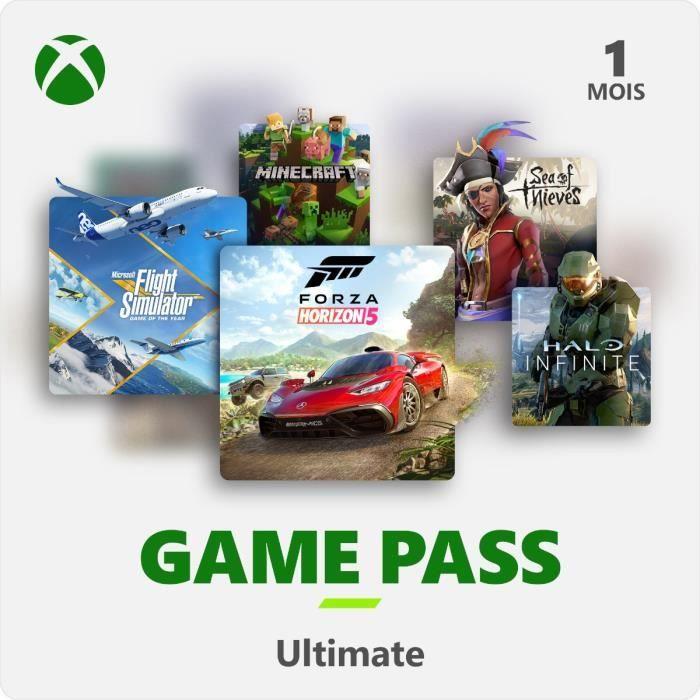 Abonnement Xbox Game Pass Ultimate - 1 Mois - Xbox / PC Windows 10 / Android - Code de Téléchargemen