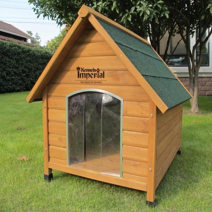 kennels imperial sussex en bois taille moyenne hien chenil avec plancher amovible pour un. Black Bedroom Furniture Sets. Home Design Ideas
