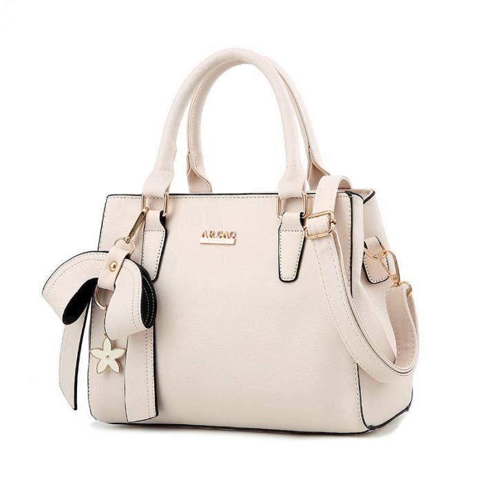 1a28549e41 sac femme de marque sac bandouliere sac luxe femme cuir sac à main de marque  pour femme blanc sac luxe femme cuir sac à main