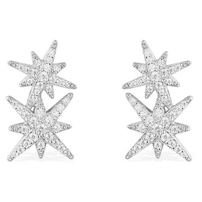 style le plus récent charme de coût remise pour vente Boucles d'oreilles Apm Monaco Météorites 3 étoiles ...