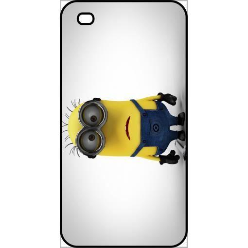 Coque Apple Iphone 4s Minion Tout Triste Achat Coque Bumper Pas