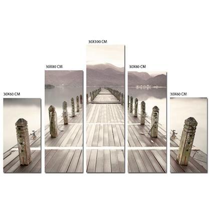 TABLEAU - TOILE Toile Imprimee Promenade  100cm x 150cm